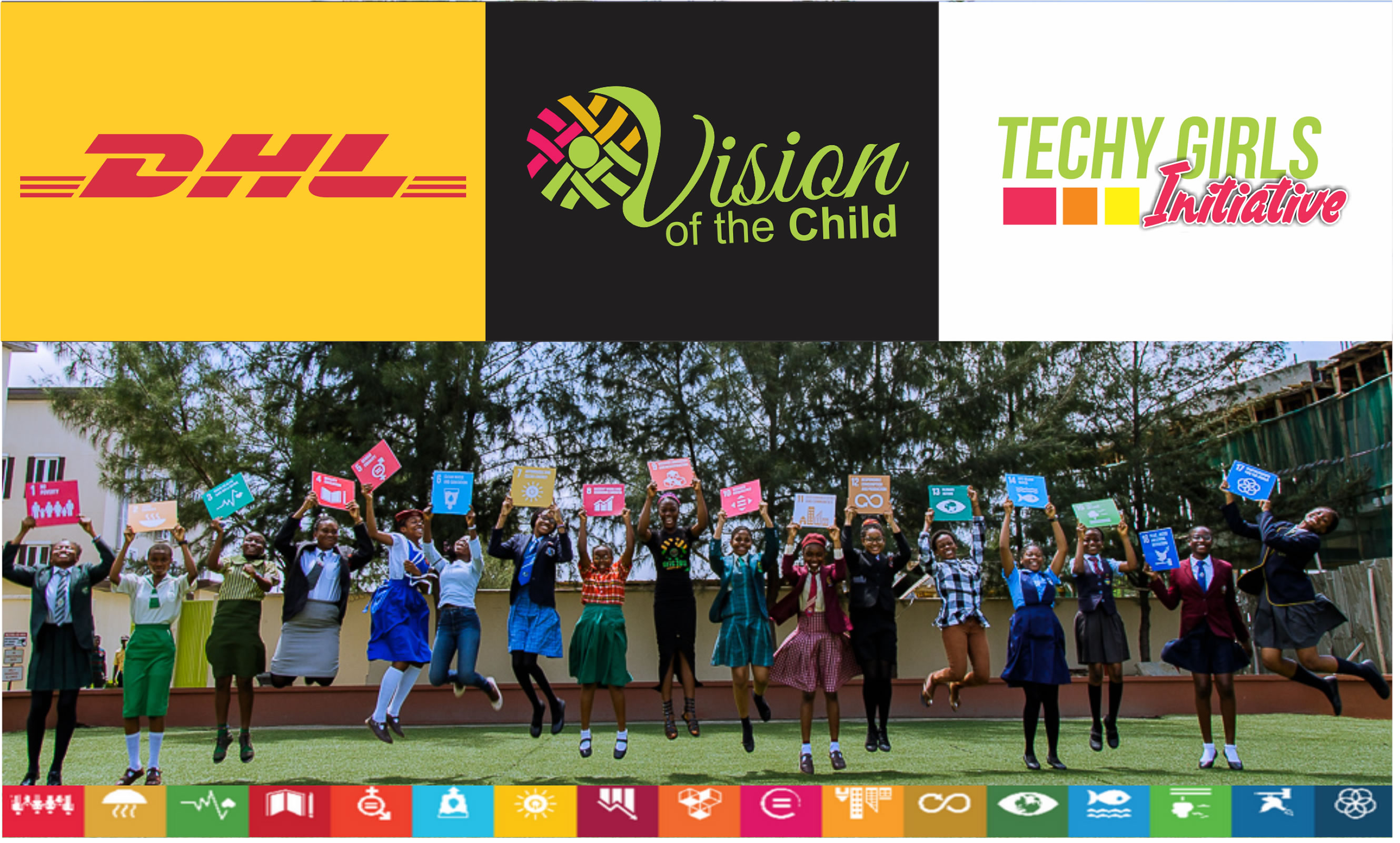 DHL to support 17 VoTC Changemakers as pioneer members of Techy Girls Initiative.